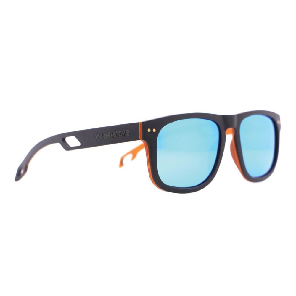 Dewerstone Tambora Mk2 Wooden Sunglasses - Polarized Grey / Orange